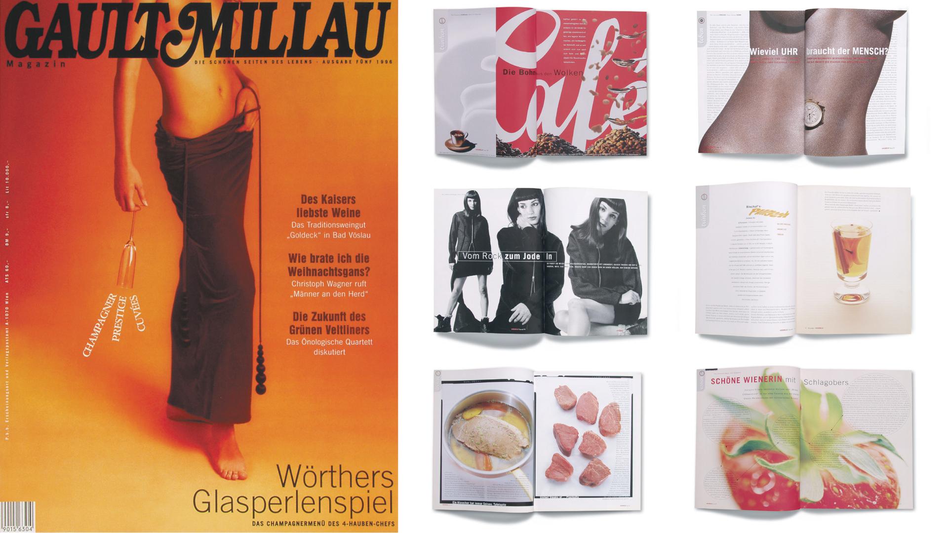 Art Direktion, Produktion periodisch erscheinenden Lifestylemagazins