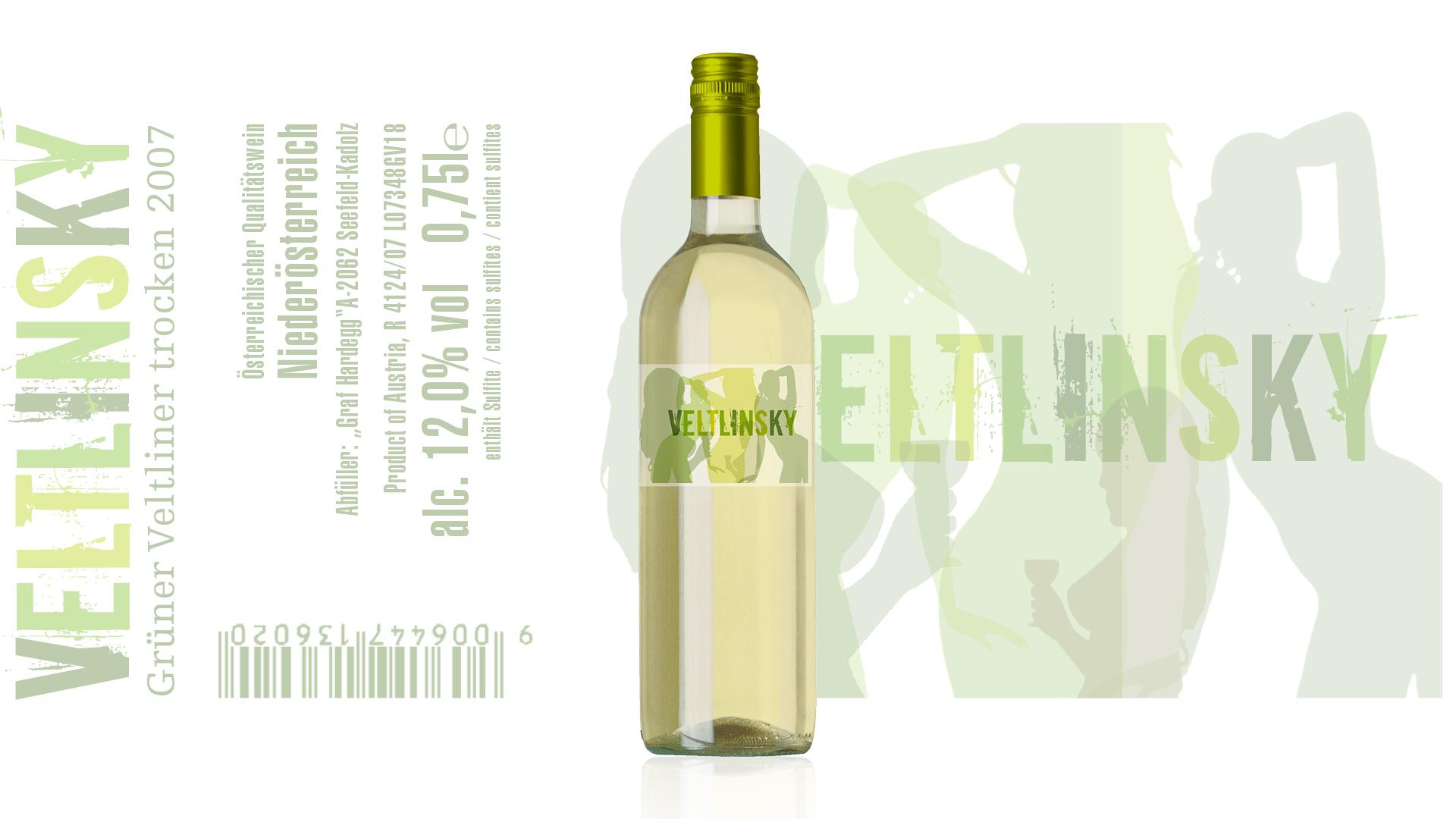 Veltlinsky Etiketten Design