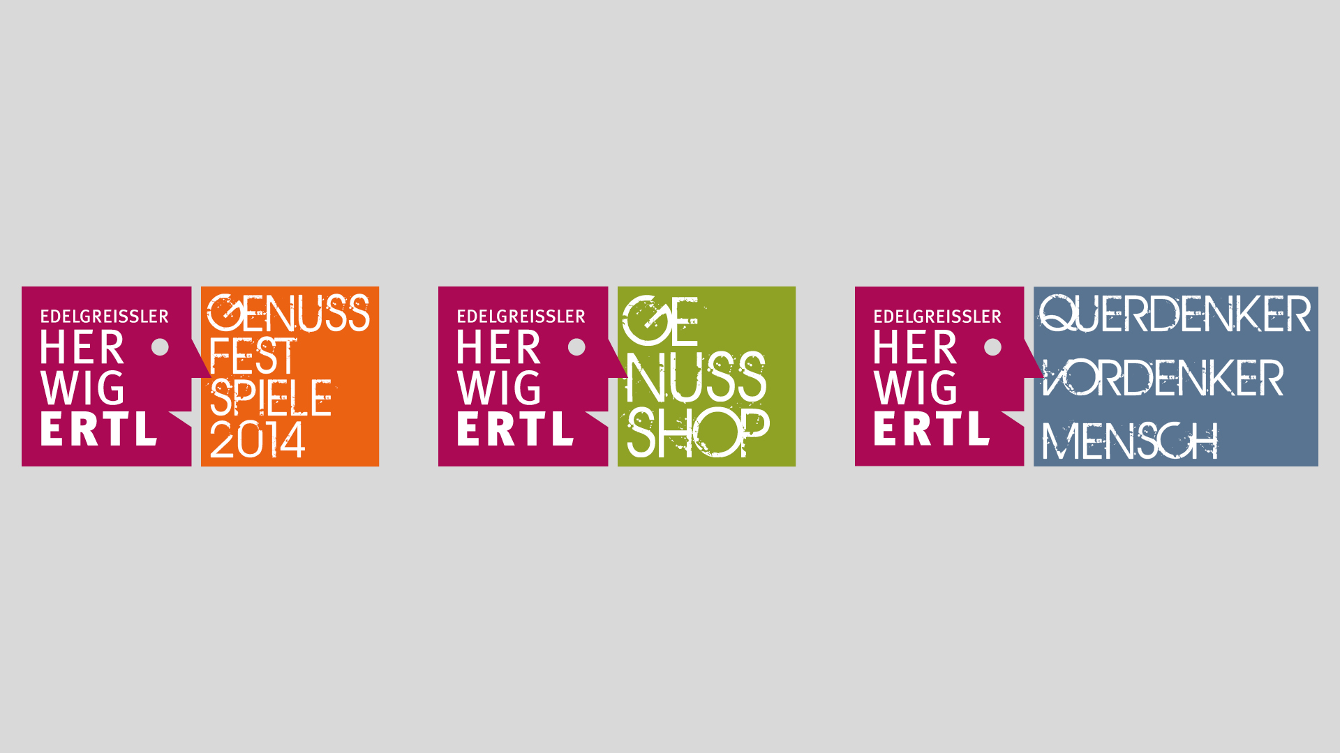Logoentwicklung für Edelgreissler Herwig Ertl