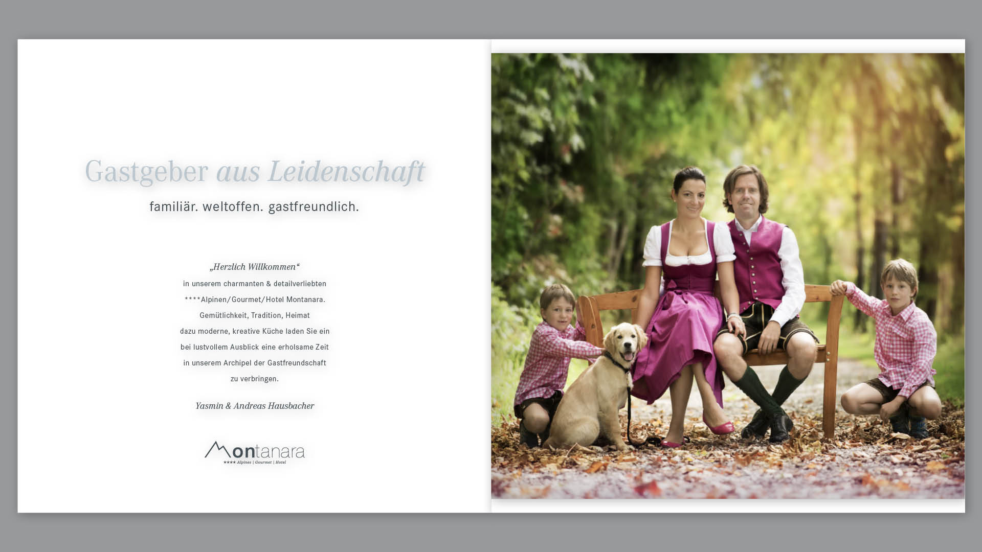 Innenseiten Hotel-Image Broschüre