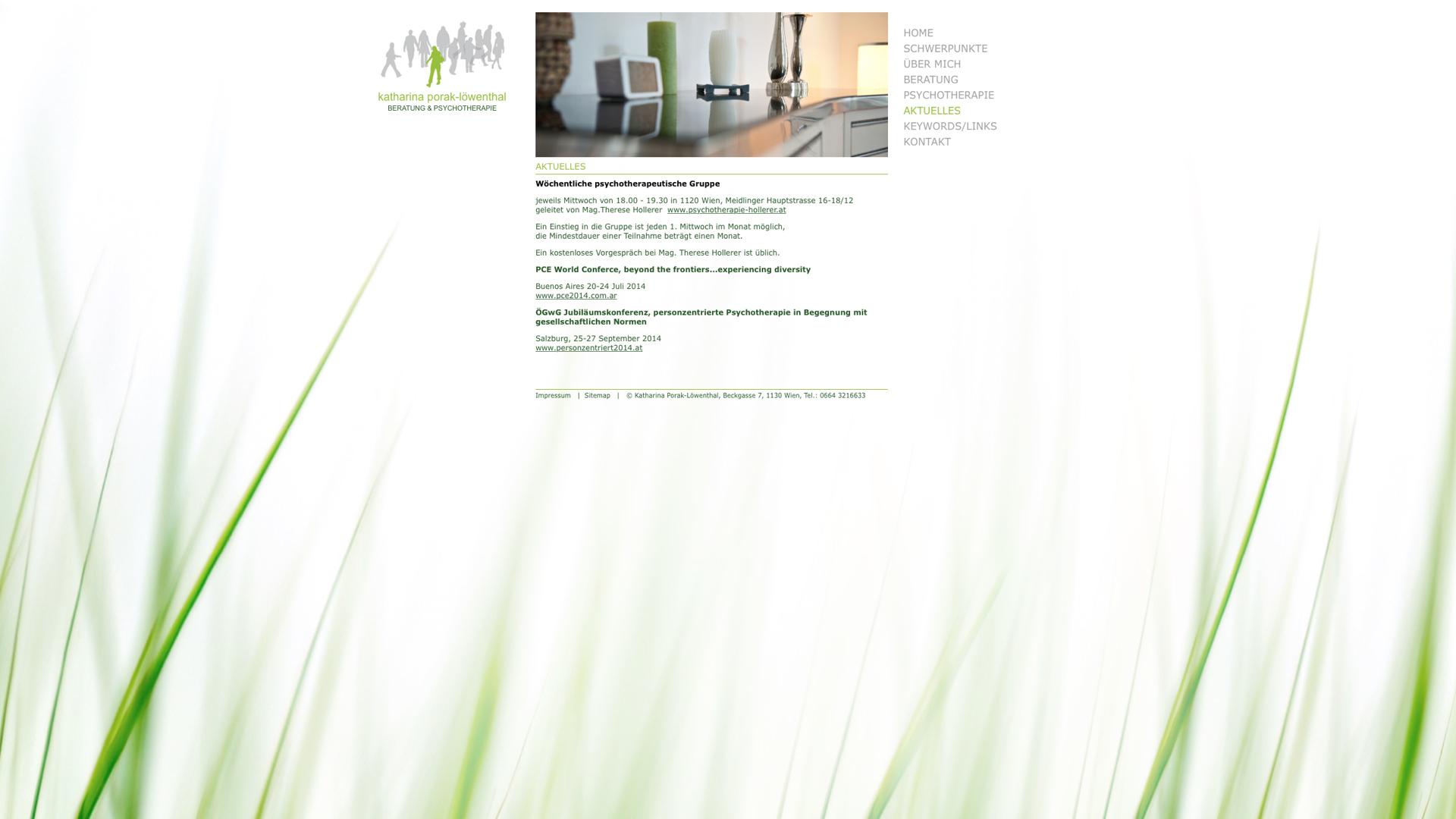 Beratung und Psychotherapie Katharina Porak-Löwenthal