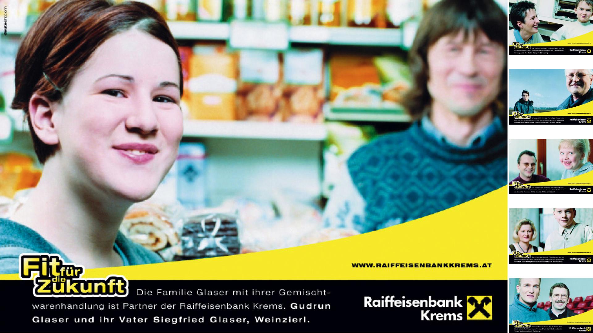 Image Kampagne im Rahem der Zusammenlegung von Filialen