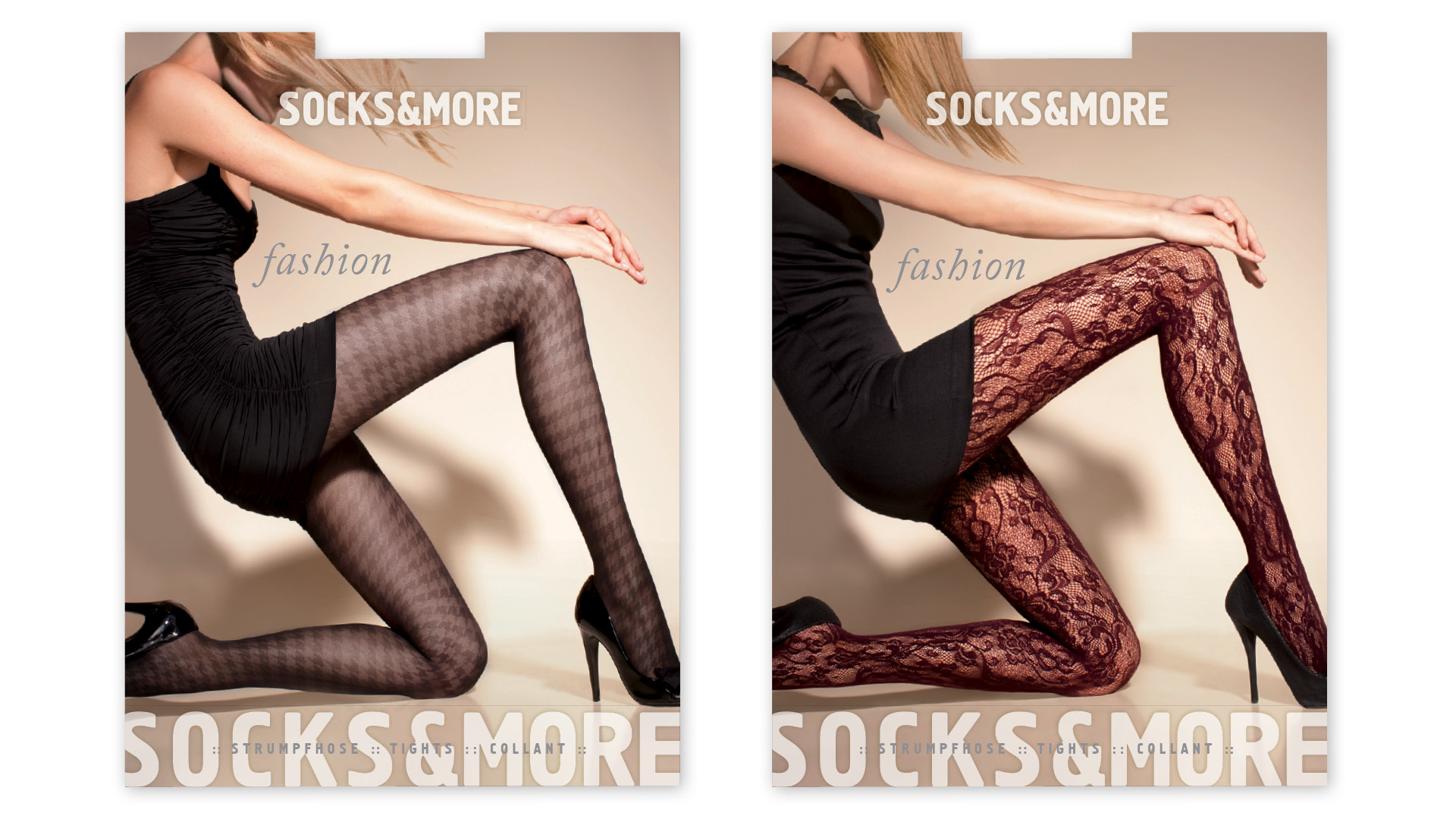 Socks & More Fashion Strumpfverpackungen