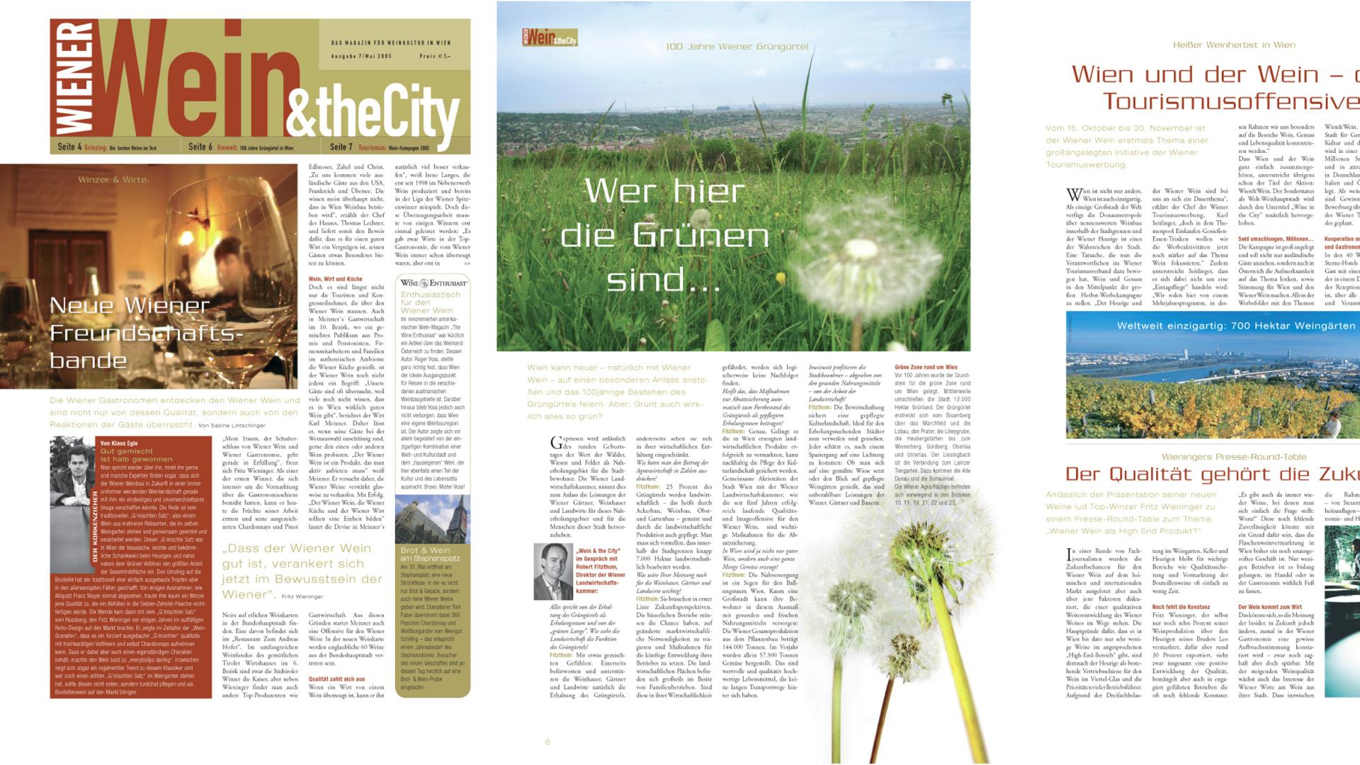 Magazin Wein & the City